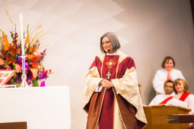 Bishop Lucinda at her Consecration