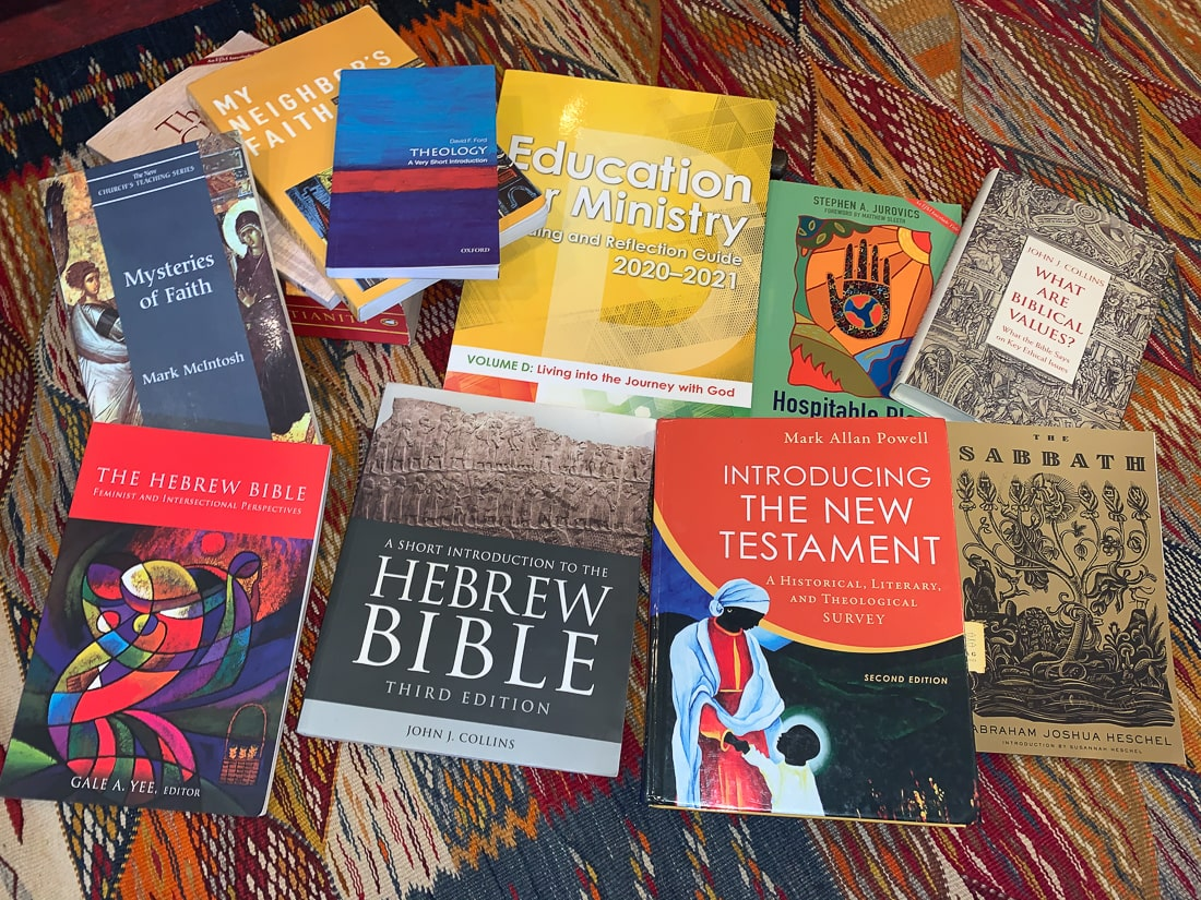 Book resources for Education for Ministry